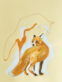 Liski na drodze
