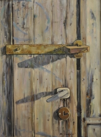 Fragment drzwi