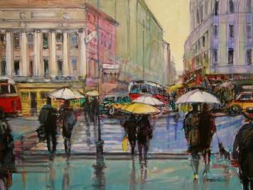 Paryż w deszczu