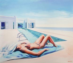 Madame VAngel 19 z cyklu Swimming Pool