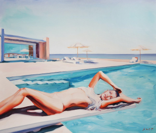 Madame VAngel 18 z cyklu Swimming Pool